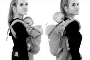 Utiliser un porte-bébé sans mal de dos
